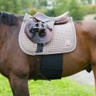 HORZE Hobuse kõhtu kaitsev kannusekaitse